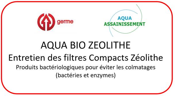 Entretien filtre à massif de Zéolite : AQUA BIO ZEOLITHE